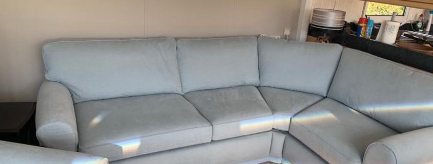Caravan sofa